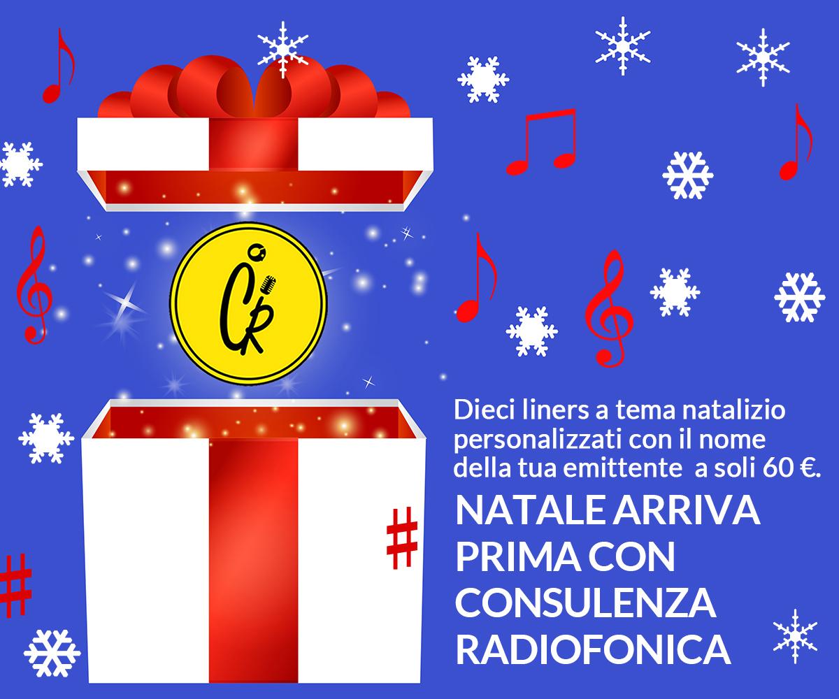 Consulenza Radiofonica Liner Natalizi Promo 2015
