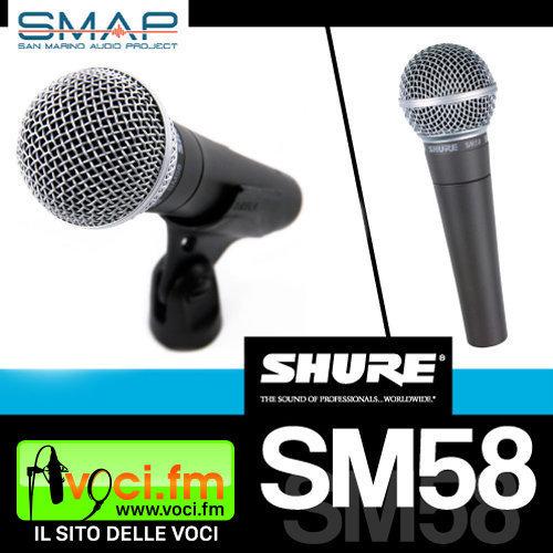 Shure-SM58-consulenza-radiofonica