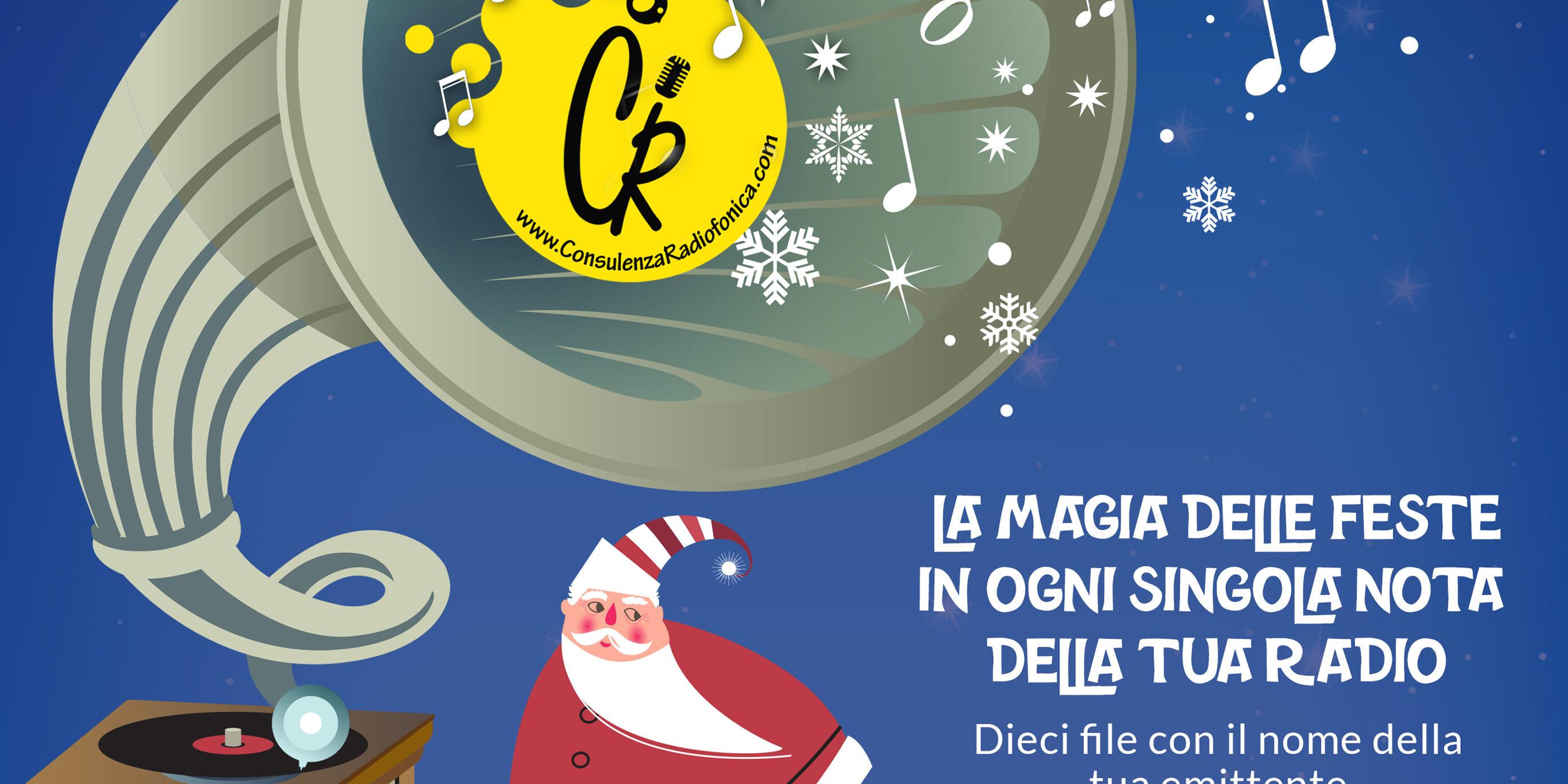 Auguri Di Natale 105.Radio Consulenza Radiofonica Jingle Per Gli Auguri Di Natale Sulla