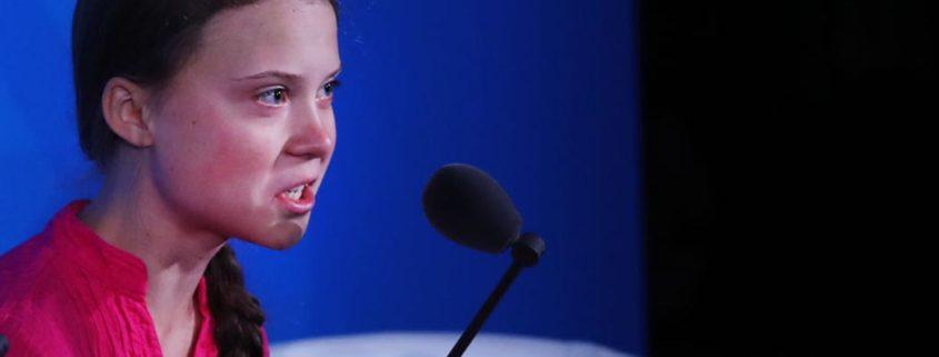 Greta Thunberg parla all'Onu